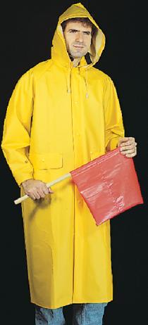 35Mm PVC/Poly Raincoat
