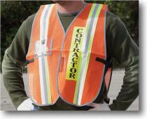 Transit Authority Contractor Vest