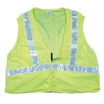CL2 Lime Mesh Vest