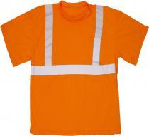 ANSI Class 2 Orange Mesh Tee Shirt