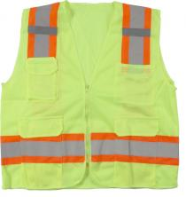 Ansi Class 2 Mesh Lime Surveyor Vest