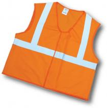 CL2 Orange Solid Vest 2Sil