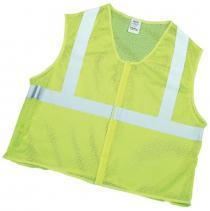 CL2 Lime Mesh Vest 2Sil