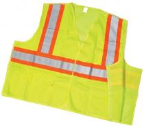 CL2 Lime Solid Tear/Away With Pockets