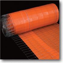 Wire Back Silt Fence -Orange