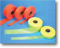 Glo Reinforced Barricade Tape