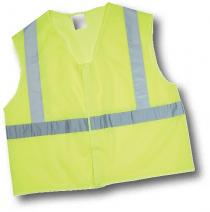 CL2 Lime Mesh Non Durable Flame Retardant Vest