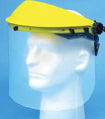 Plastic Face Shield W Visor