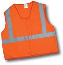 CL2 Solid Non Durable Flame Retardant Vest