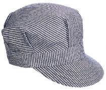 Kromer BK Hickory Stripe Style Cap