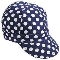 Kromer C32B Blue/White Dot Style Cap