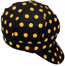 Kromer C32V Yellow/Black Dot Style Cap