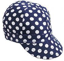 Kromer K32B Blue/White Dot Style Cap