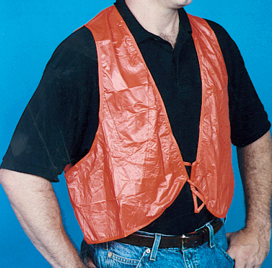 Pvc Disposable Safety Vest Mutual Industries